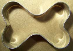 Dog Bone Shaped Cookie Cutter