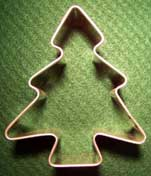 Christmas Tree Shaped Cookie Cutter