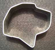 Labrador Dog Shaped Cookie Cutter