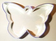 Monarch Shaped Cookie Cutter