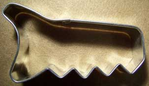 Saw Shaped Cookie Cutter