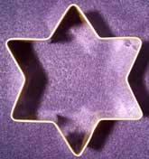 Star of David Shaped Cookie Cutter