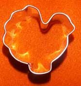 Turkey Shaped Cookie Cutter Small
