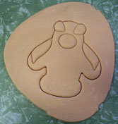 Penquin Shaped Cookie Demo 04