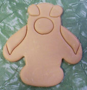 Penquin Shaped Cookie Demo 05
